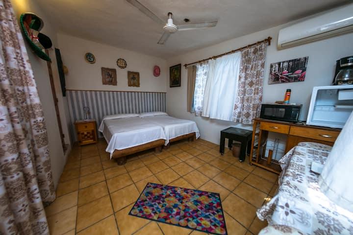 Casa Colibrí – Habitación con baño privado