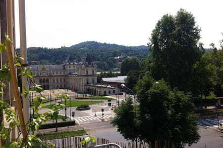 Vista sul parco del Valentino - ตูลิน