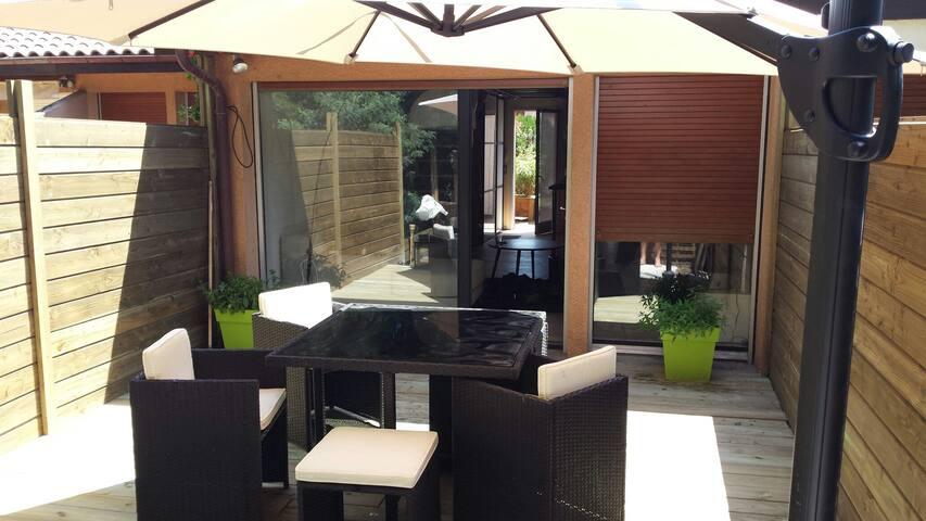 Villa Patio Capbreton - Famille 4 + 1 extra bed