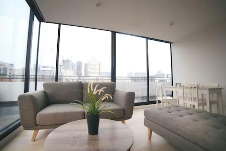 A cosy modern city view house - West Melbourne - Apartment