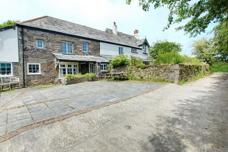 "Barn Cottage in ""Poldark"" country! - Saint Clether - Casa"