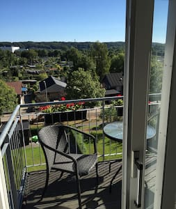 Classic and charming 2 bedroom apartment w. a view - Vejle