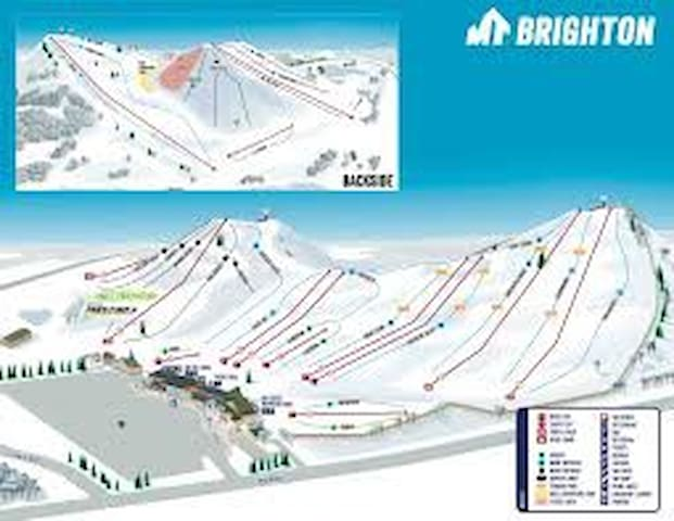 Mt Brighton  Map