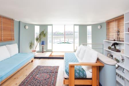 Stunning Chelsea river houseboat - Londres