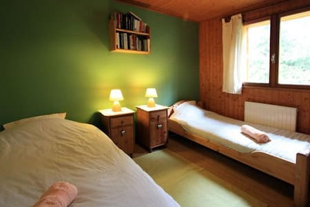 Chalet Les frênes Triple room (1) - Chamonix-Mont-Blanc - Bed & Breakfast