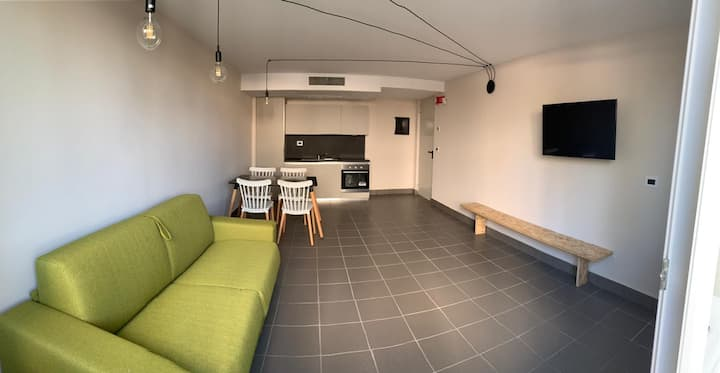 Appartamento nuovo e di design vicino a Bergamo