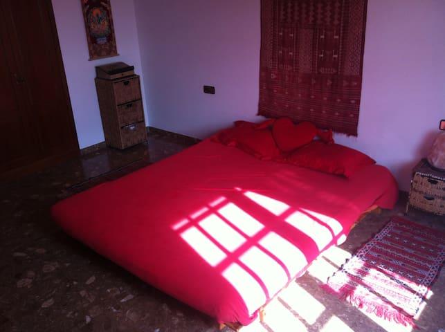 Big Light-Filled Bedroom in Sitges