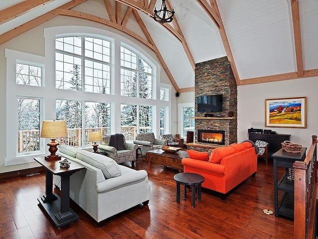 Luxury Chalet Charlevoix Quebec