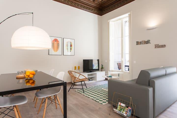Wohnung mit Terrasse im Music Palac