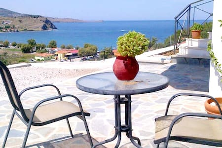 Private Upper Villa on Greek Island - Anaxos Skoutarou