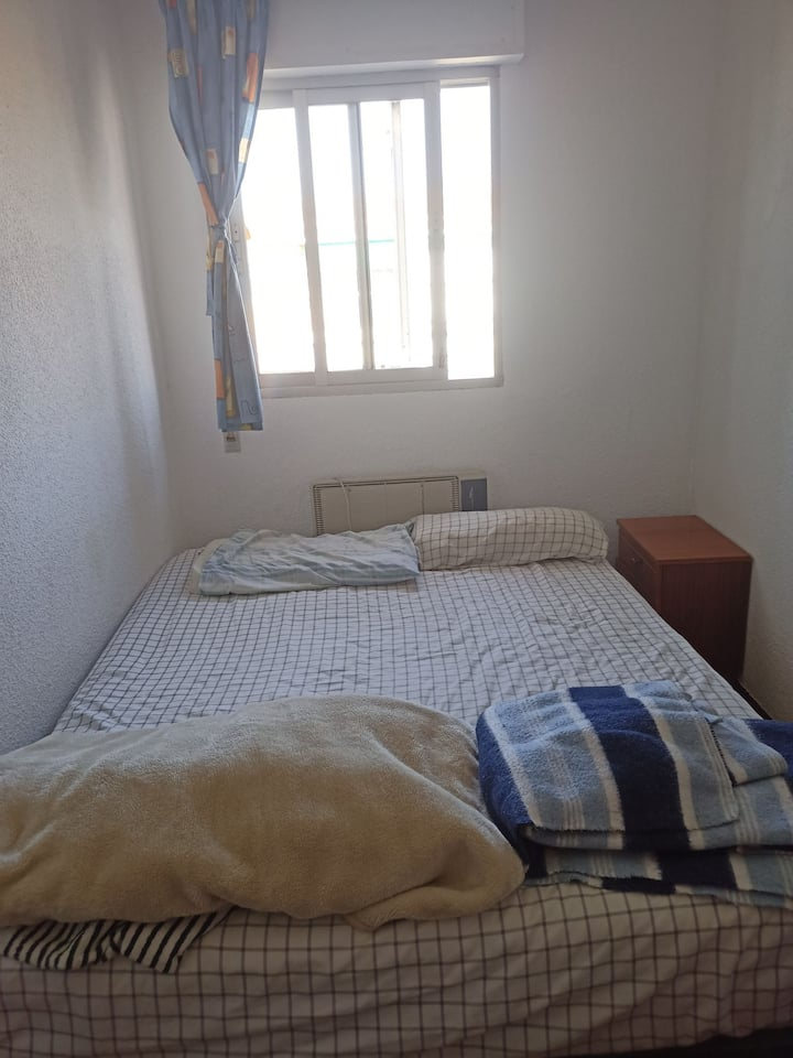 Habitación sencilla para visitas cortas
