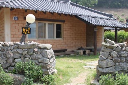 안덕마을 황토1호방 - Wanju-gun - Dům