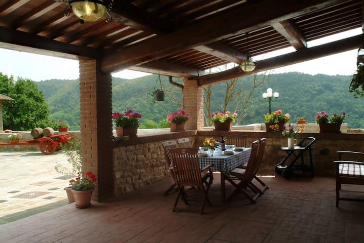 Villa il Castellaccio - Cast 3 - Greve in Chianti - Apartemen