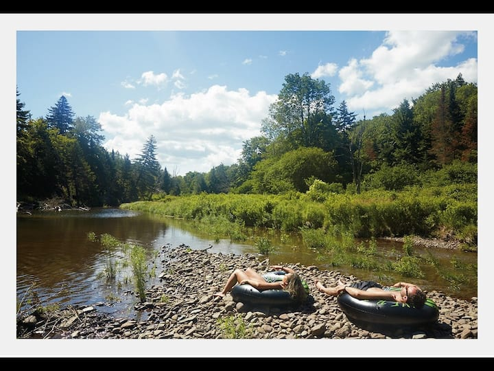 Tentrr Signature Site - Sugarloaf Mountain Meadows and Schoharie Creek