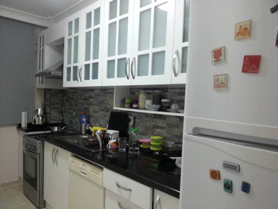 This is my wonderfull kitchen.