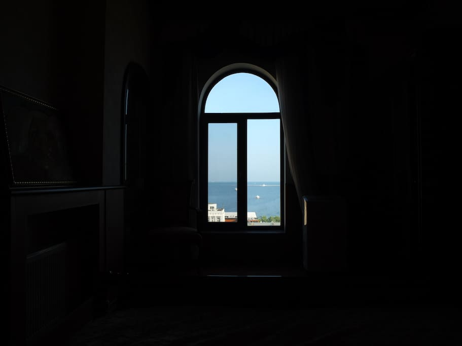 View from Bed...