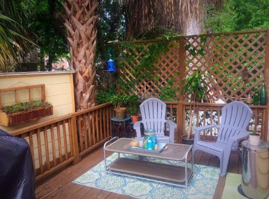 Our back patio