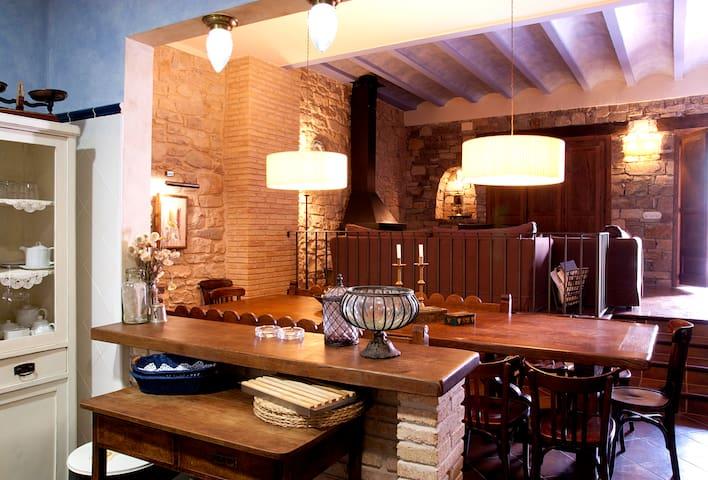 Cal Bovera. Casa rural con encanto - Guimerà - Huis