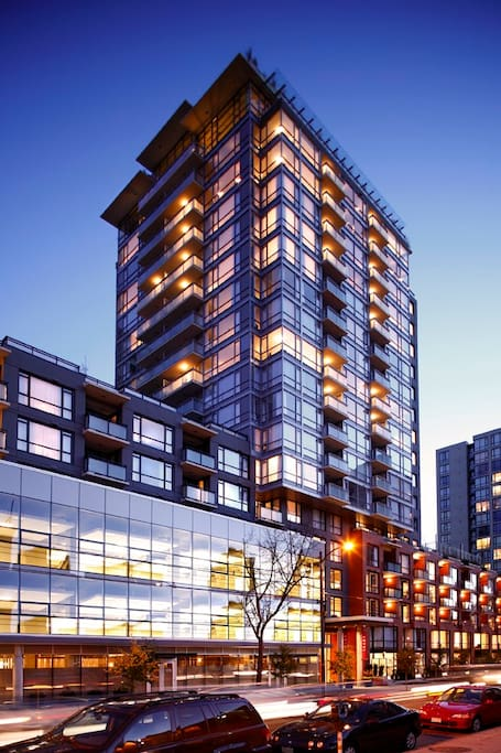 Located steps away from the entertainment and restaurant heart of Vancouver