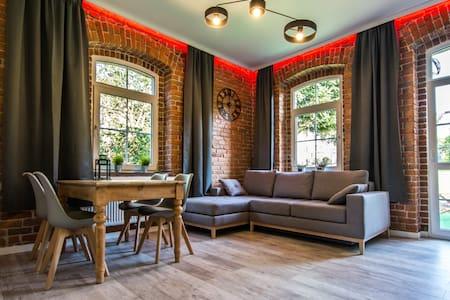 apartament winyLOVE z biokominkiem i tarasem