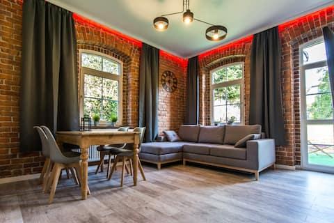 apartamento winyLOVE con bio chimenea y terraza