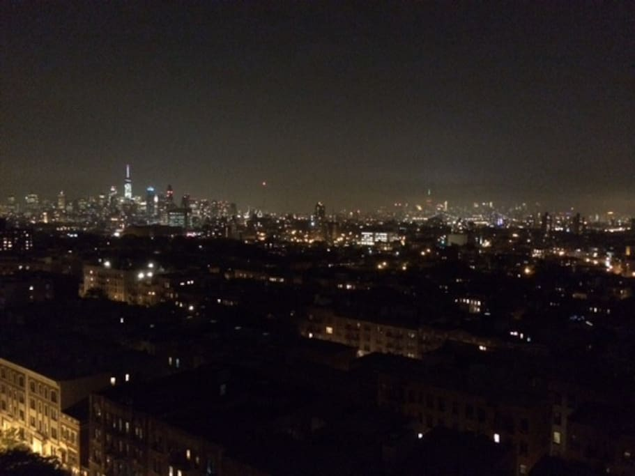 Drop dead Manhattan skyline views from all rooms