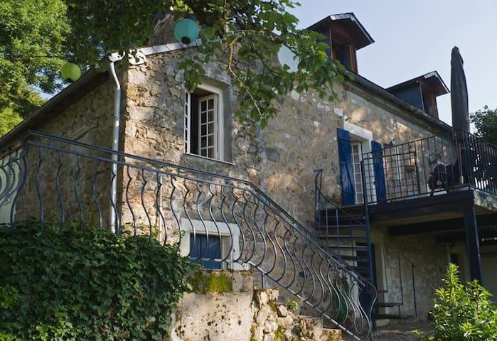 Gîte Romantique - Le Petit Morvan - Villapourçon - Sommerhus/hytte