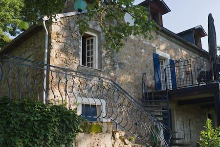 Gîte Romantique - Le Petit Morvan - Villapourçon - Ξυλόσπιτο
