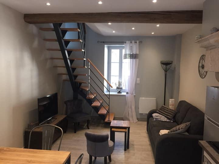 Loft entier,maison centre de Meursault, 4 pers.