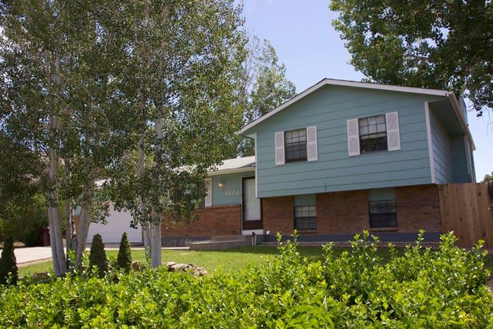 Comfortable home in great neighborhood - Pueblo - Ev