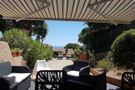 Sainte-Maxime, Guerrevieille, Maison avec vue mer