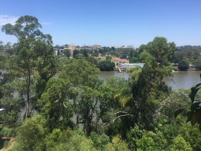 View across to University of Qld