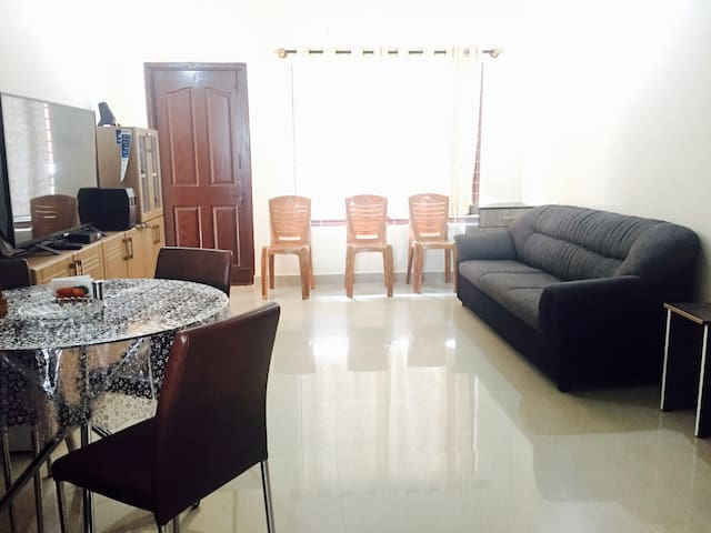 Elegant apartment - entire space - Mysuru - Daire