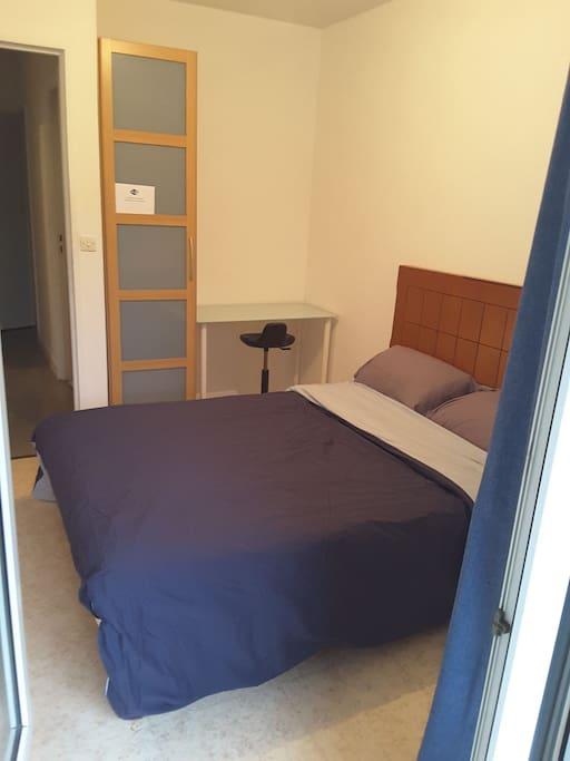 Belle chambre au calme avec balcon appartements louer for Piscine franconville
