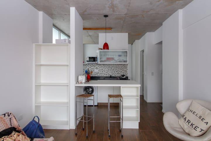 Apartamento moderno y luminoso