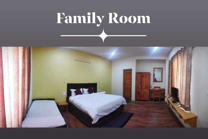 Tirthan Grand Riverside @ Family Room