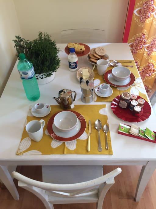 it's breakfast time!