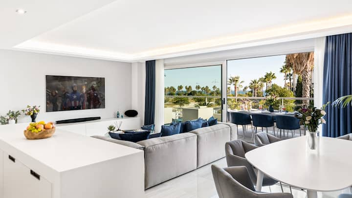 New Modern Luxury 3BR Duplex Apartment San Pedro