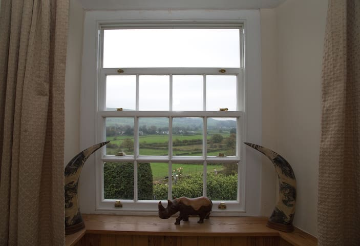 Double en-suite with the best views in Cartmel