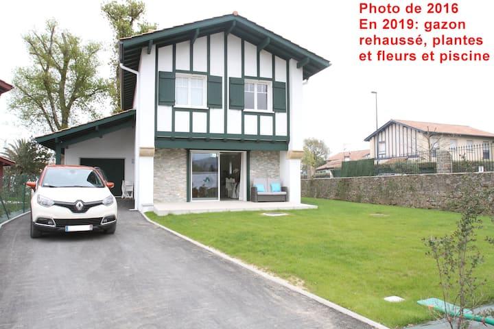 Villa à Urrugne, 4 chambres près Saint Jean de Luz