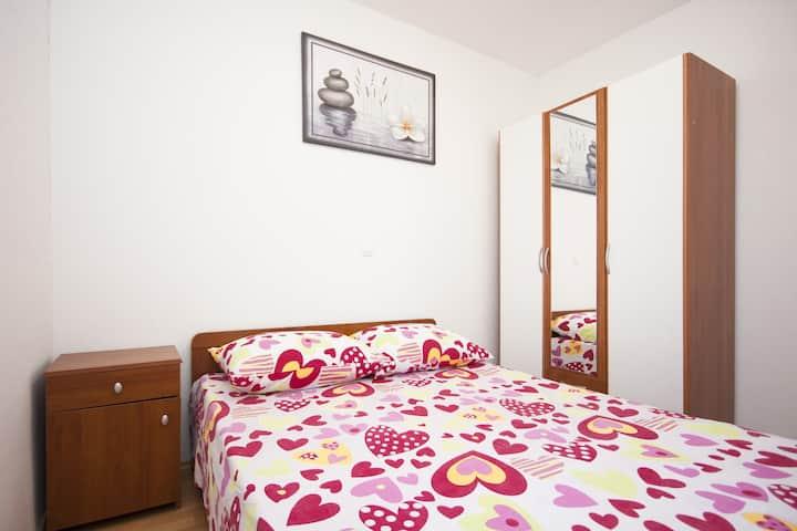 Apartments Sun Rogoznica - One Bedroom Apartment with Terrace (A1)