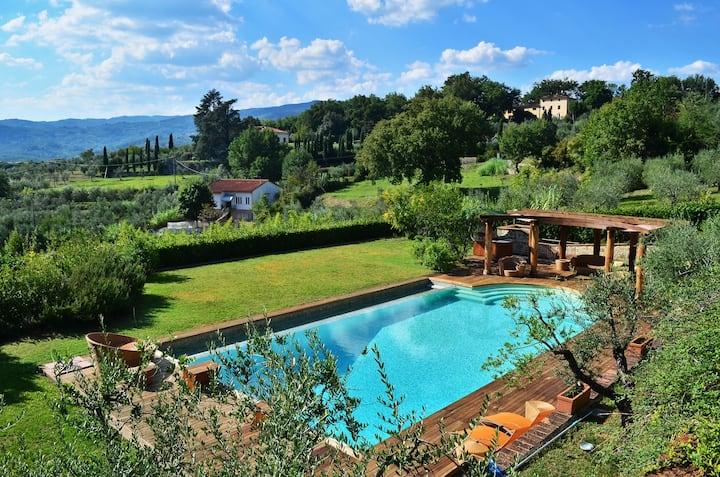 dependance in villa Toscana