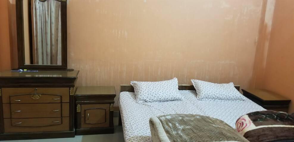 Suite- 2 Bedrooms (Double Bed)+Kitchen+Toilet
