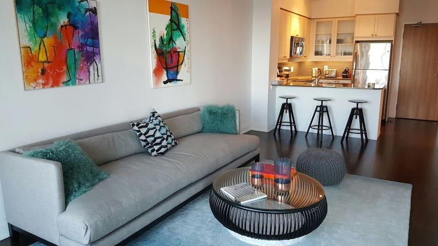 Design and comfort 1BR (midtown)