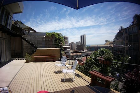 Habitaciones Valparaíso, Baño Privado, Desayuno In - Valparaíso