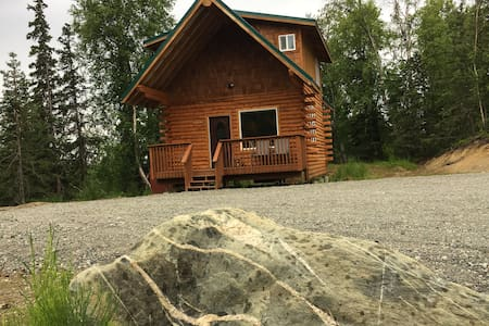 AK Vacation Cabins Woodland Hollow Log Cabin