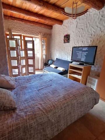 Habitaciones en casa chalet de Santa lucia