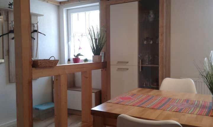 Alte Schmiede, (Bad Wildbad), Alte Schmiede, Ferienwohnung, 50qm, 1 Schlafzimmer, max. 3 Personen