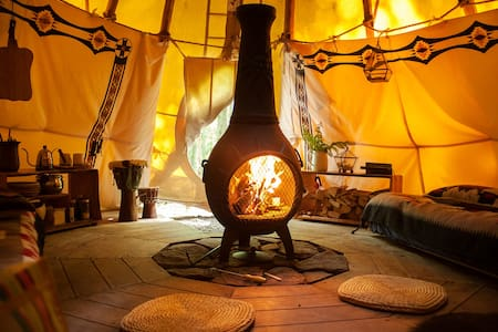 Bellfire Tipi Getaway in the Catskills