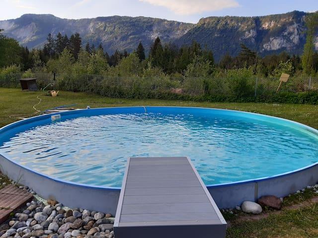 Ferienwohnung mit Pool nähe Villach
